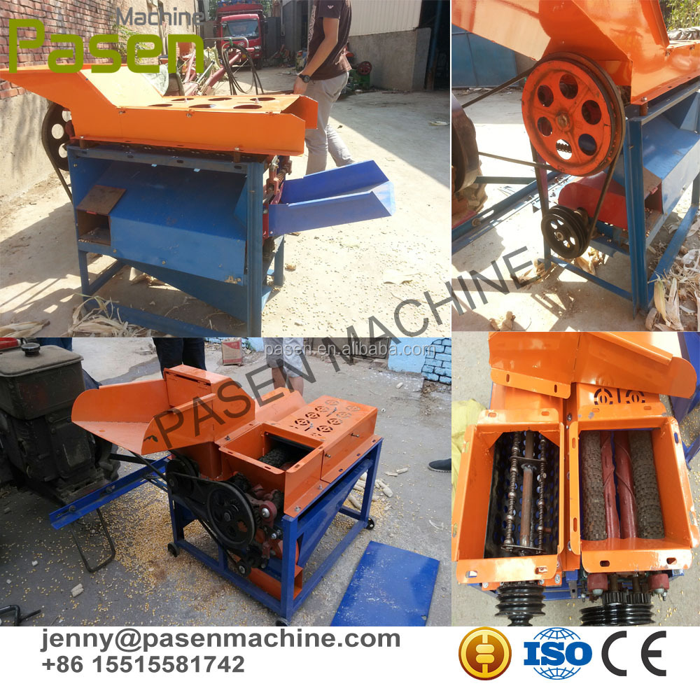 Corn Skin Remover and Sheller machien
