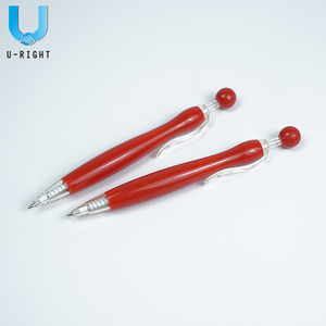 Promotional Plastic Bead Pen for Gift