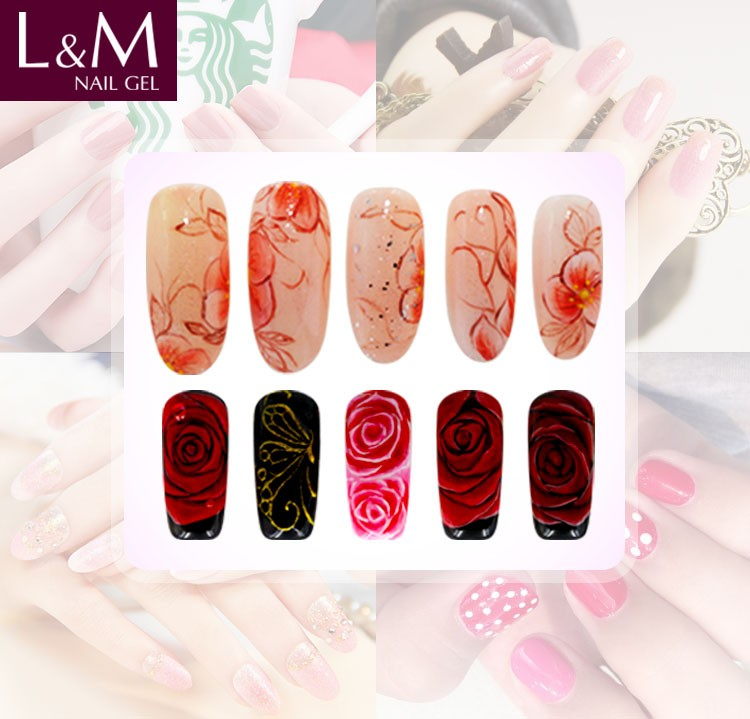 Long Lasting Foundation Base Coat Set UV LED Soak off UV Gel Polish Top Base UV Nail Prime Art Lacquer