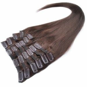 Best Colored Gold Supplier 22 Inch Clip In Human Hair Extensions