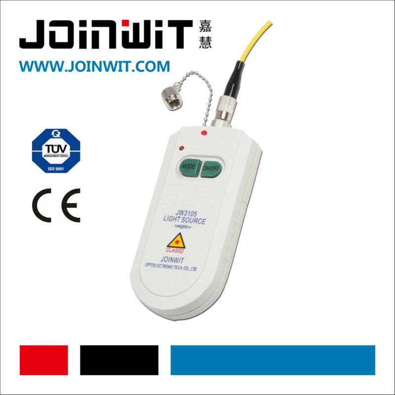 JOINWIT,JW3105,finding fiber micro bends and faults,visual fault locator,optical fiber cable tester