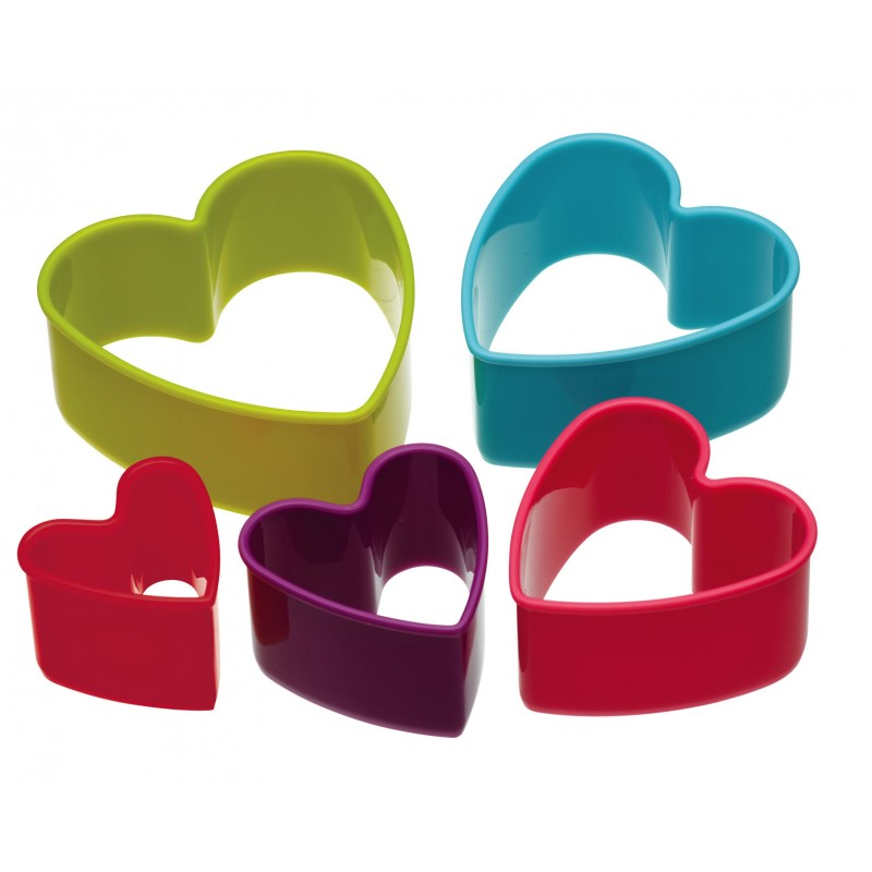 Best Selling U.S Standard Colored Heart Shaped Cookie Cutter