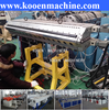upvc pvc roofing sheet making machine plant extruder production machine extrusion line
