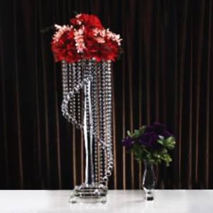 Tall Glass Candle Holders crystal glass candlestick Candelabra for wedding decoration lights crystal table candlestick