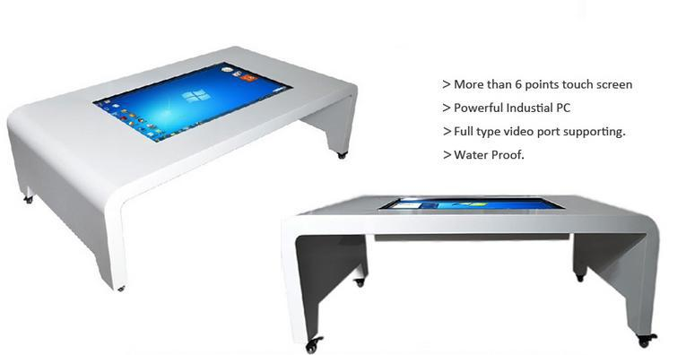 43 Inch Diy Lcd Screen Interactive Multi Touch Coffee Table