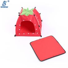 Cute Strawberry Shape Malaysia For Sale Outfoor Plastic Toy Large Metal Dog House