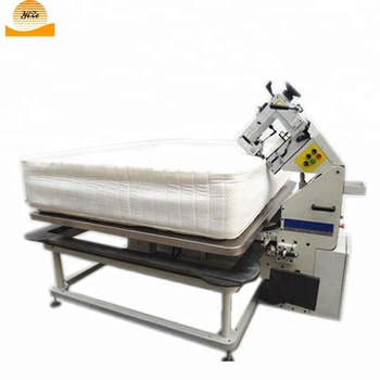 Automatic Quilt Blanket Overlock Sewing Machine Price Mattress Tape Delectable How To Quilt A Blanket With Sewing Machine