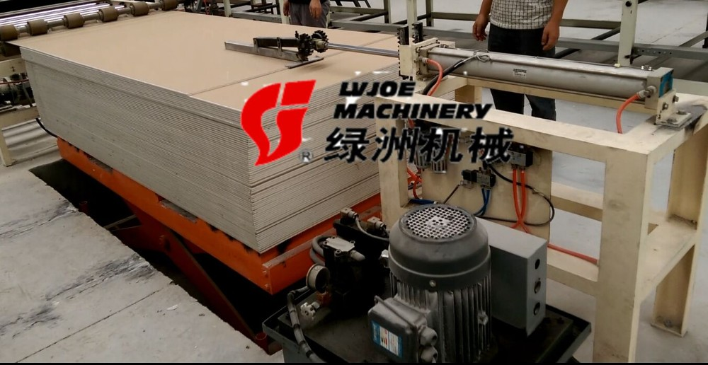 Automatic Gypsum Ceiling Tiles Pvc Lamination Machinery