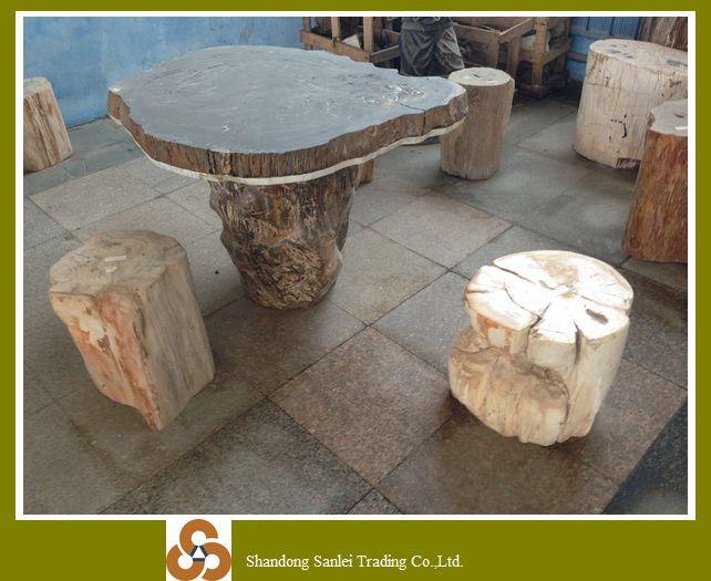 Tafel Versteend Hout : Best verkopende groothandel goedkope versteend hout tafel te koop