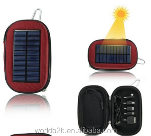 2200mah Solar Mobile Charger Bag, Solar Bag Charger for Phone