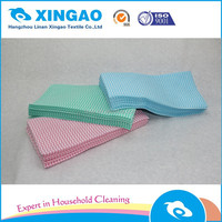 Kitchen disposible nonwoven wipes roll/viscose cleaning cloth roll/household multipurpose wipes