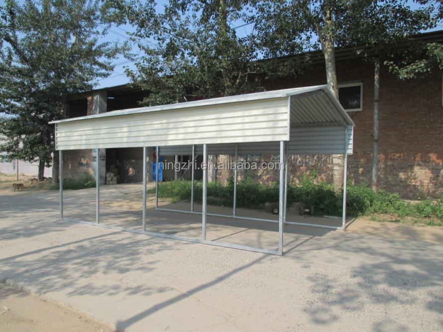 11 x 20 x 9 metal vertical carport diy perfect one car for Carport 6x9m