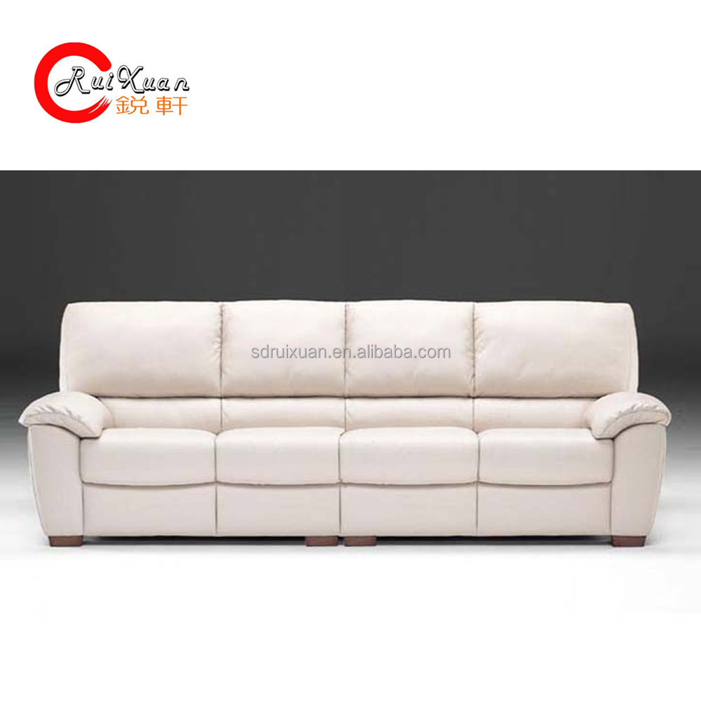 Modern Living Room Lounge Long Leather