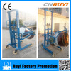 1600mm manual drum lifter hydraulic stacker