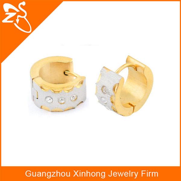 2 Gram Gold Beautiful Designed Earrings Gold Earrings Design With ...