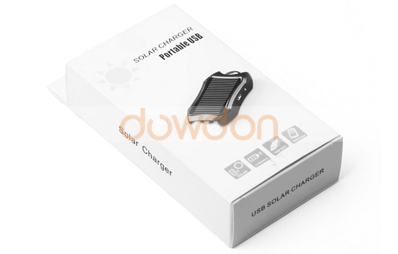 Test OEM/ODM Solar Mini Charger Solar Keychain Charger 1200mah