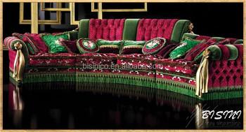 Englisch Romantische Möbel, Helle Farbe Klassiker Sofagarnitur,  Einzigartiges Design Royal Wohnzimmer Sitzgruppe