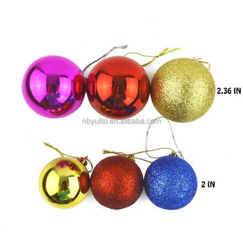 amazon hot selling clear tree hanging balls plastic christmas ball with great price - Plastic Christmas Balls