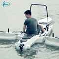 Hot sale no inflatable 3.3 meters PE canoe with