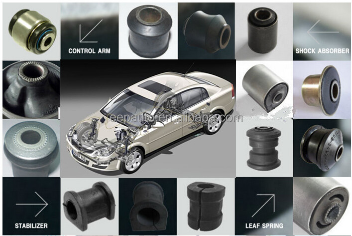 Auto Parts Rubber Bushing For Japanese Cars