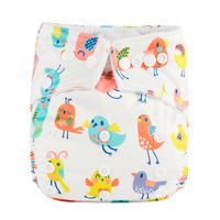 2019 Baby Washable Diaper Baby Cloth Diaper Cover Sleep Diaper