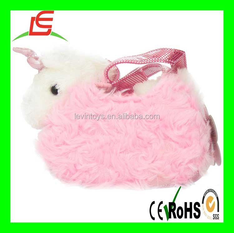 LE B0118 Aurora World Fancy Pals Plush Pink Pet Carrier