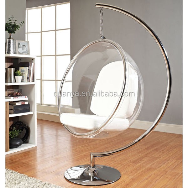 Hanging Bubble Chair Acrylic Transparent Ball Chair   Buy Acrylic Hanging  Bubble Chair,Ball Chair For Sale,Hanging Ball Chair Product On Alibaba.com