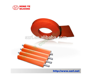 Hong Ye Vulcanized Hand Silicone Rubber Roller Sale HY-453