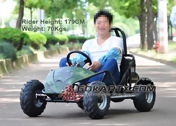 800W 1000W Kids Use Mini Electric Racing Go Kart EG8001