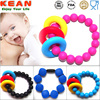 baby teething BPA free Cheap Custom Personalized silicone bead bracelet