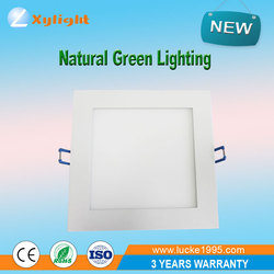 Foshan BEST PRICE panel light with square shape 7w led downlight