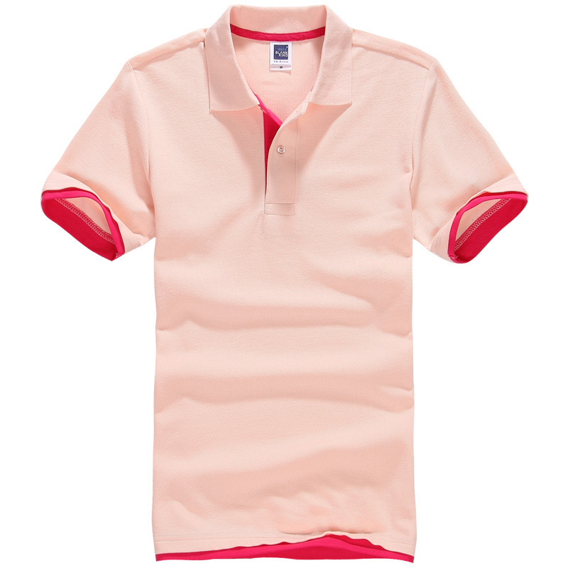 319614389c6 2015 New arrival two-color collar lovers plus size XXXL XXL summer short  sleeve polo