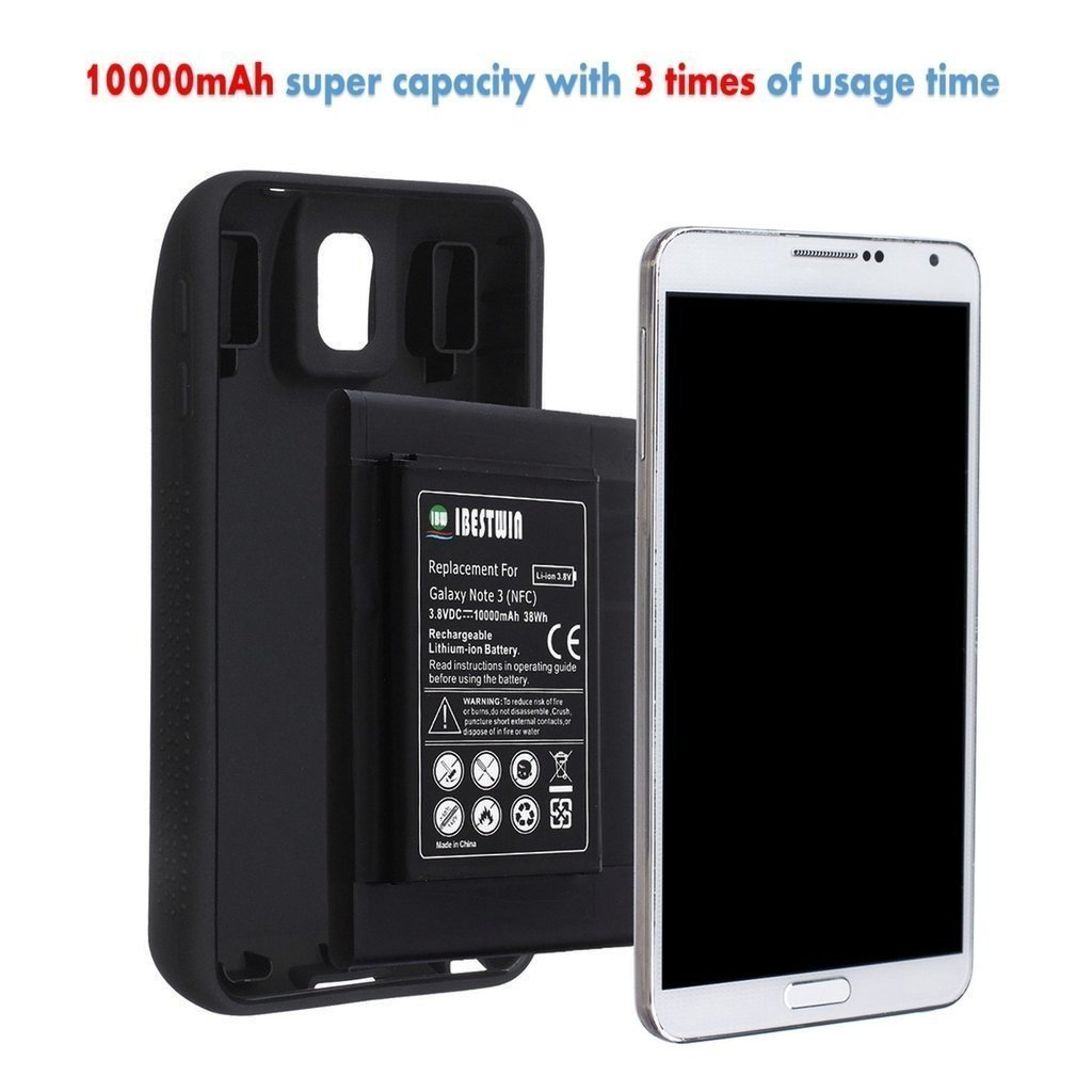 best service 16e3e 076cb Buy IBESTWIN Samsung Galaxy Note 4 10000mah Extended Battery + NFC + ...