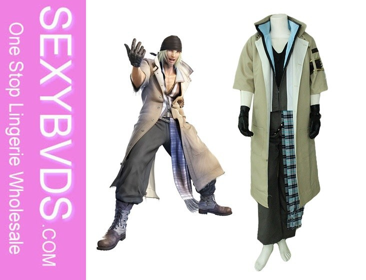 Final fantasy Snow Villiers cosplay costume patterns