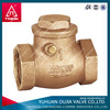 size 2' din standard pvc pipe fittings check valve made in YUHUAN OUJIA TMOK