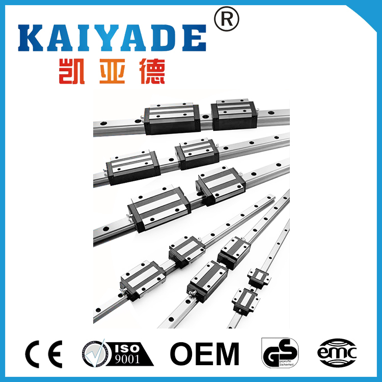 Linear guide HGH15 ---HGH45 Linear motion guide and block with high precision