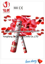 wedding party popper,wedding decoration,love story