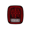 red/white 39 LED car rear stop turn lights tail reverse license lights for truck trailer boat jeep offroad