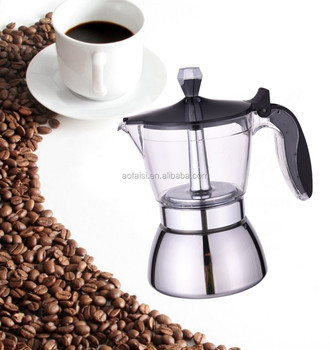 induction /stove top espresso maker for coffee