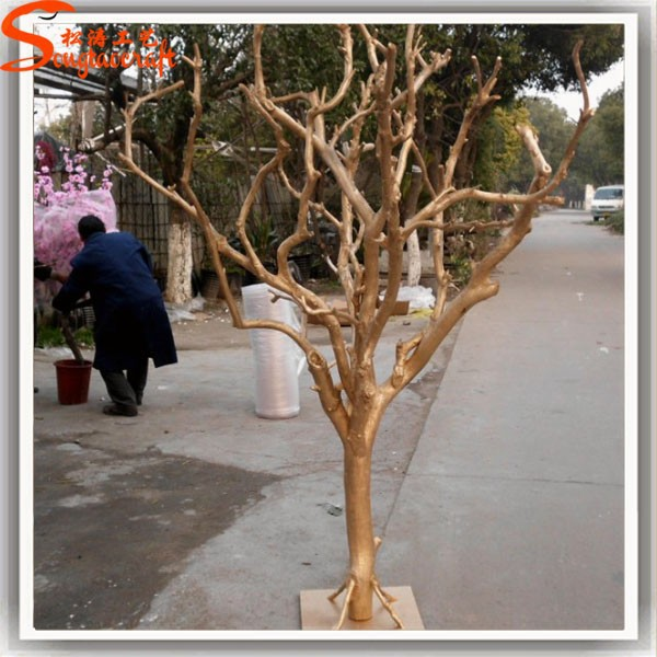 Personnalis arbre artificiel tronc d coration en plastique d corative nature - Tronc arbre decoration interieur ...