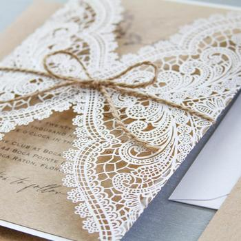 Wedding Invitations Ivory Cards