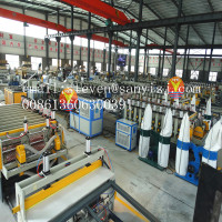 sheet extrusion line/board manufacturing machine