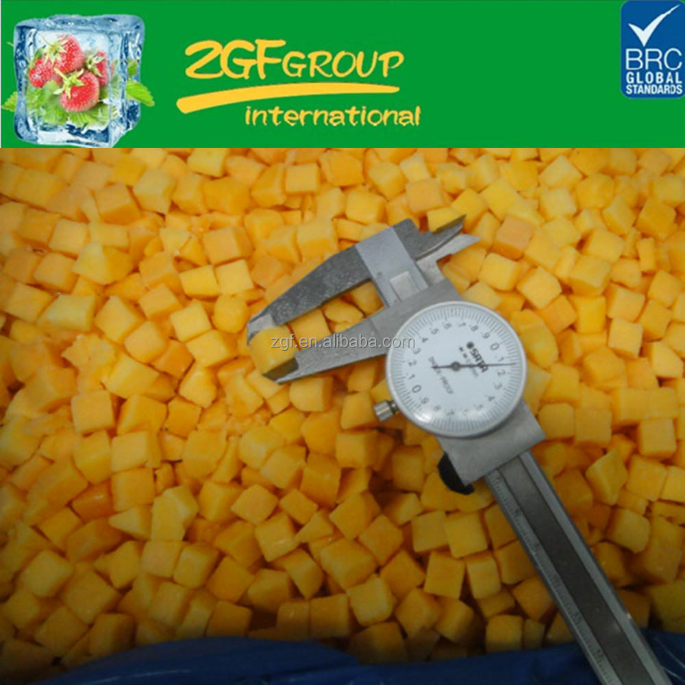 IQF Delicious Frozen fruit alphonso mango tree in good quality in bulk