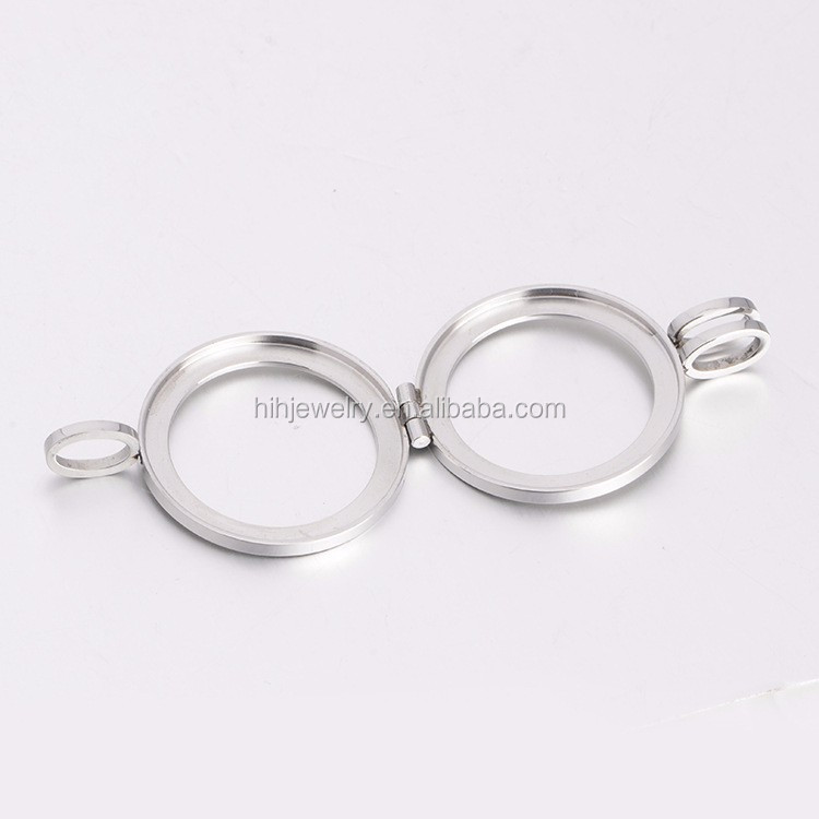 High quality stainless steel coin holder pendant necklace euro coin high quality stainless steel coin holder pendant necklace euro coin holder aloadofball Image collections