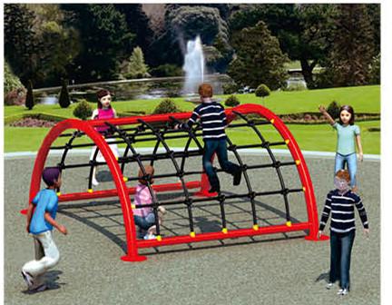 Klettergerüst Spielplatz : Spinnennetz klettergerüst für kinder koordinationsfähigkeit