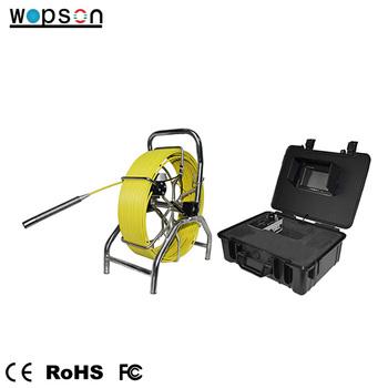 high technology sewer pipe inspection robot with snake inspection camera