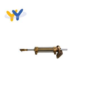 Simple operation connecting boat steering system hydraulic cylinders rowing machine