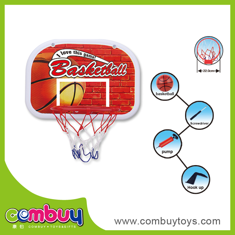 Best selling sport indoor toys plastic hanging basketball board design