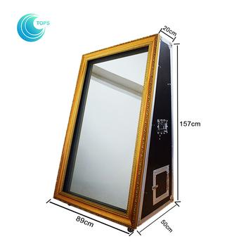 Floor Standing Infrared Touch Screen 65inch Digital Interactive ...