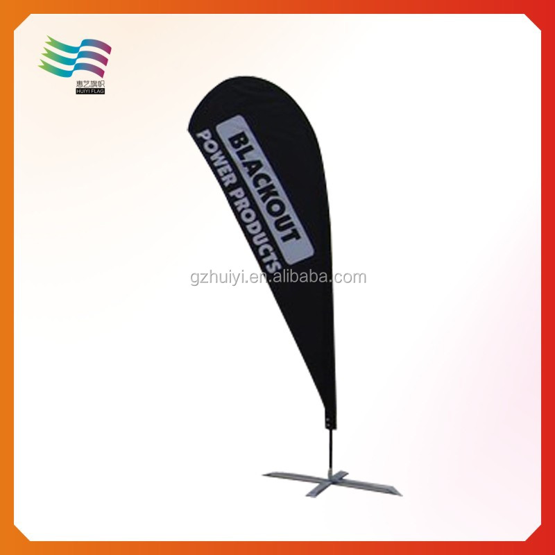 Flying Cheap Teardrop Beach Flag Banner